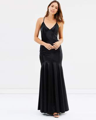 Ava Fitted Silky Gown