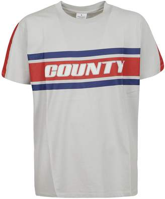Marcelo Burlon County of Milan County Stripes Print T-shirt