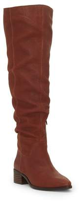 Lucky Brand Kitrie Leather Over the Knee Boot