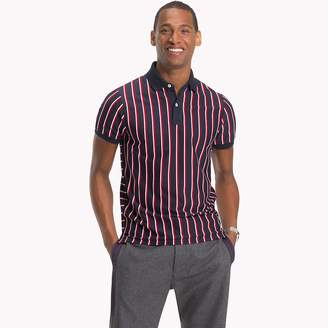Tommy Hilfiger Stripe Slim Fit Polo Shirt