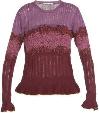 Marco De Vincenzo Lurex Fabric Sweater