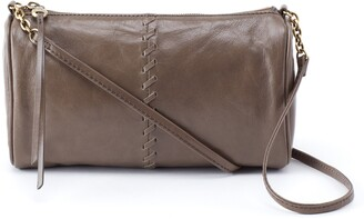 Hobo Topaz Leather Crossbody Bag