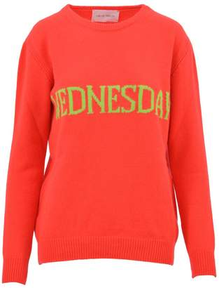 Alberta Ferretti Orange Wednesday Sweater