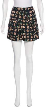 Thakoon Floral Print Mini Skirt