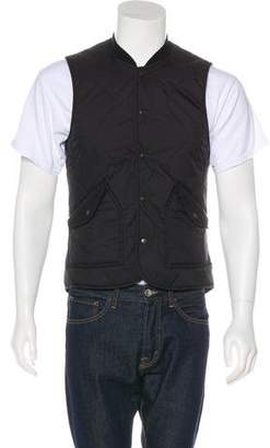 Wings + Horns Quilted Button-Up Vest