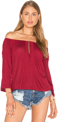 Sanctuary Bella Off the Shoulder Top $59 thestylecure.com
