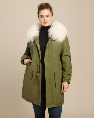 Mr & Mrs Italy Parka with Mongolian Fur Hood