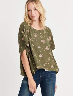 Lucky Brand PRINTED SWING TOP