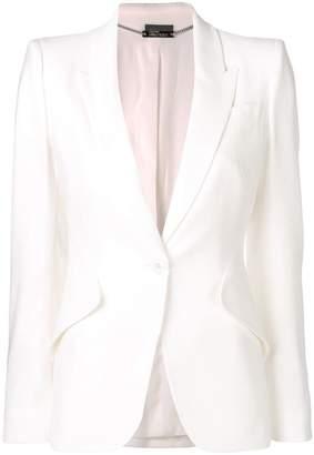Alexander McQueen boxy-fit blazer