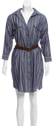 Elizabeth and James Silk Mini Dress