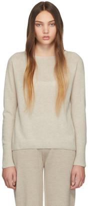 Max Mara Leisure Beige Cashmere Sweater