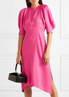 Khaite Cynthia Dress In Bright Pink