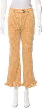 Manoush High-Rise Wide-Leg Pants