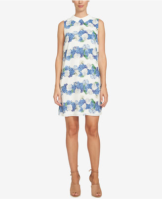 CeCe Floral-Print Shirtdress $119 thestylecure.com