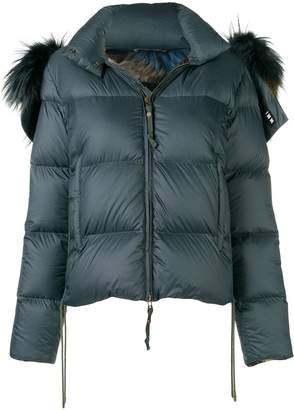 Mr & Mrs Italy tassel detailed puffer jacket