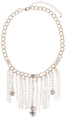 Free Press Drip with Chain Statement Necklace
