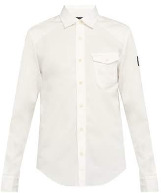 Belstaff Steadway Cotton Blend Shirt - Mens - White