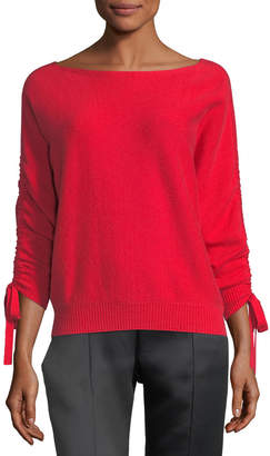 Joie Dannee Boat-Neck Wool-Cashmere Sweater