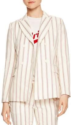 Sandro Severine Striped Blazer
