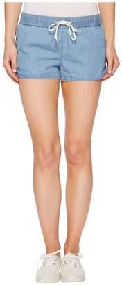 Vans Janek II Denim Shorts in Light Indigo Women's Shorts