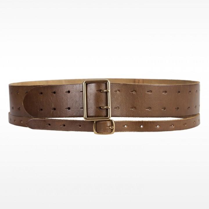 Linea Pelle Maya Double Strap Military Waist Belt