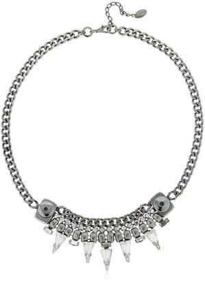 Swarovski Chain Necklace W Crystals