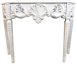One Kings Lane Vintage Hollywood Regency Italian Console Table