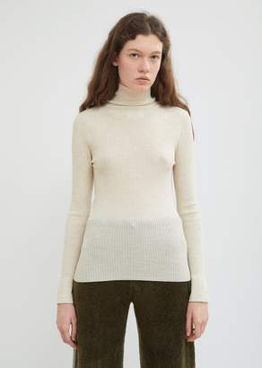 Antipast Ribbed Wool Turtleneck Sweater