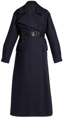 Ramsta double-faced wool-blend long-line coat