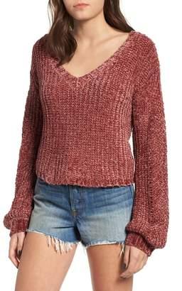 Somedays Lovin Sweet Skies Chenille Sweater