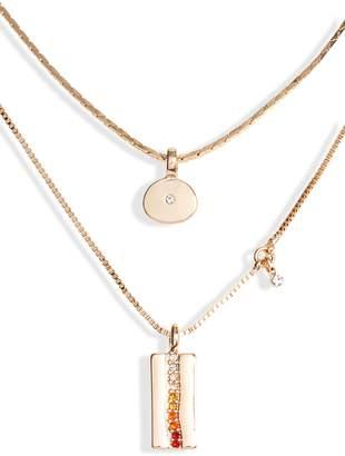 Treasure & Bond Layered Charm Necklace