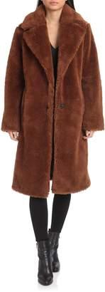 AVEC LES FILLES Teddy Faux Fur Coat