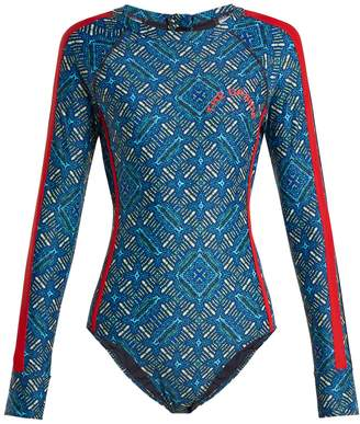 The Upside Casa Azul performance paddle suit