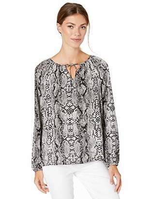 NYDJ Women's Peasant Blouse