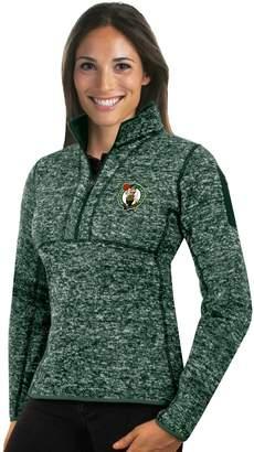Antigua Women's Boston Celtics Fortune Pullover
