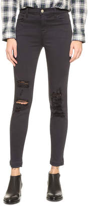 J Brand Alana High Rise Crop Jeans $196 thestylecure.com