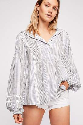 Baja Babe Stripe Pullover