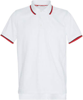 Givenchy Striped-Trim Cady Polo