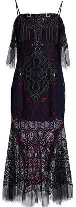 Jonathan Simkhai Corded Lace Midi Dress
