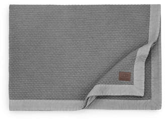 UGG Diamond Matelasse Queen Blanket - Granite