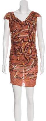 Missoni Metallic Patterned Dress