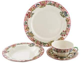Gien 10-Piece Jardin Imaginaire Dinner Service