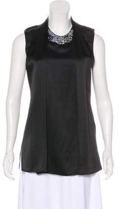 3.1 Phillip Lim Embellished Silk Top w/ Tags