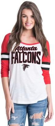 New Era Women's Atlanta Falcons Burnout Tee