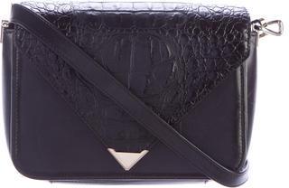 Alexander WangAlexander Wang Embossed Leather Prisma Envelope Sling