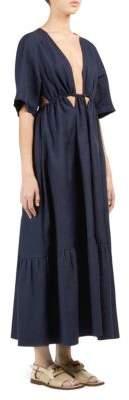 Stella McCartney Cut-Out Waist A-Line Dress