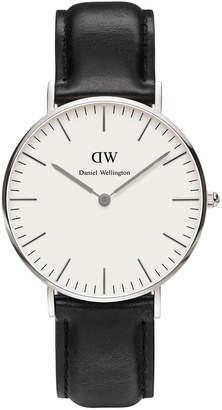Daniel Wellington Classic Sheffield 36mm Silver Watch