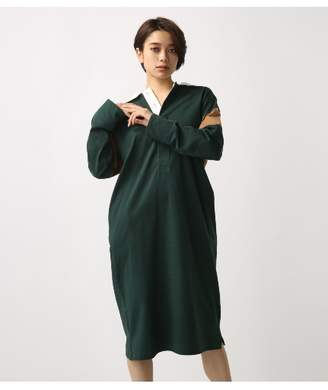 AZUL by moussy (アズール バイ マウジー) - アズールバイマウジー 《WEB限定価格》CUT ラガーシャツ ワンピース