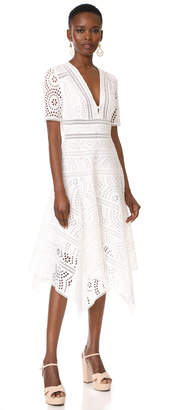 Zimmermann Meridian Embroidered Dress $630 thestylecure.com