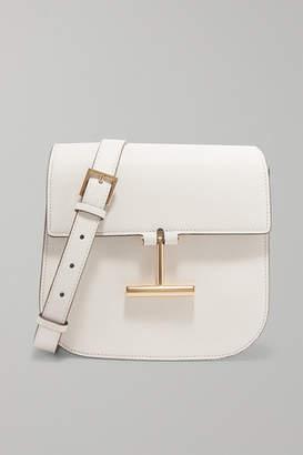 Tom Ford Tara Mini Textured-leather Shoulder Bag - White